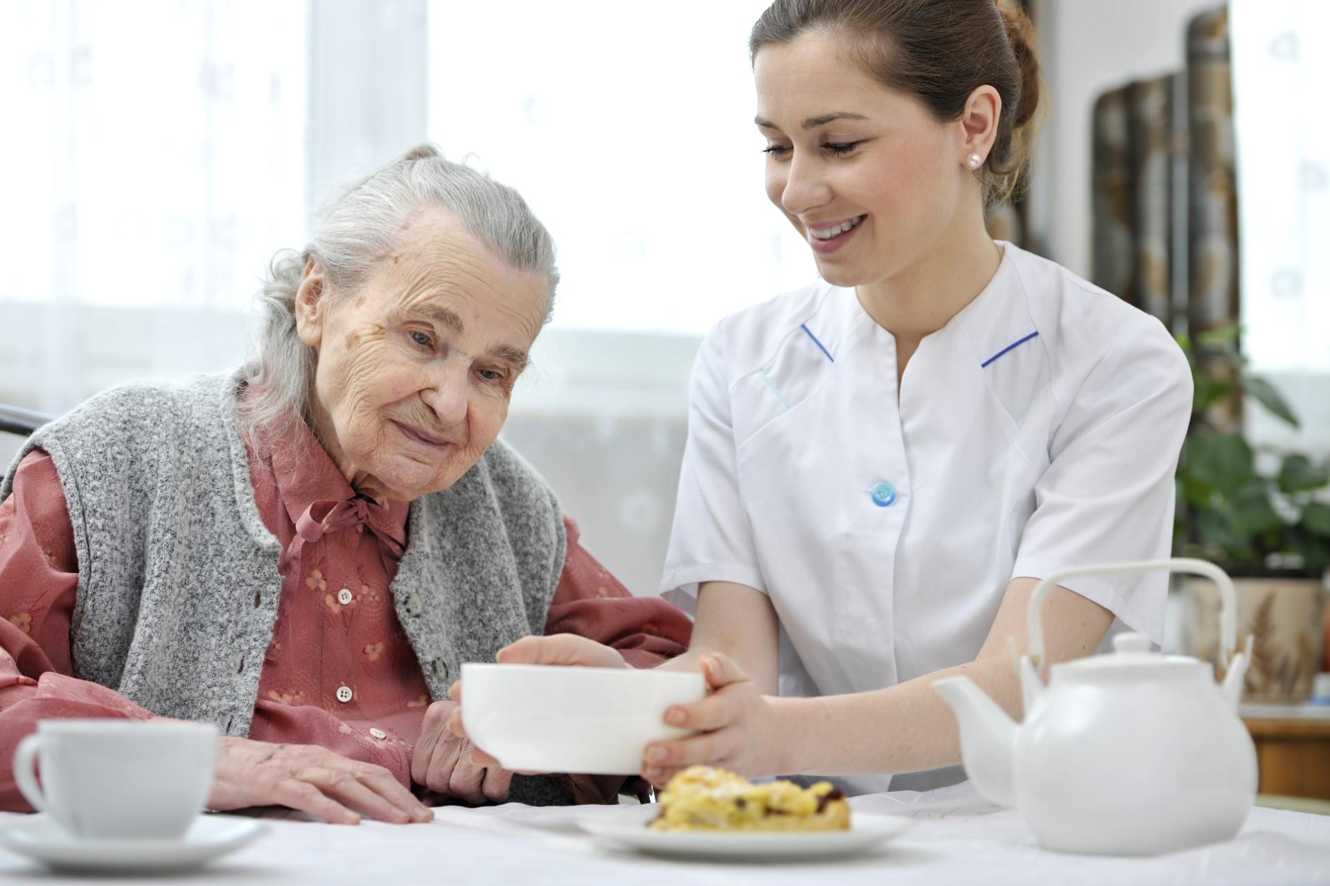 Care home staff